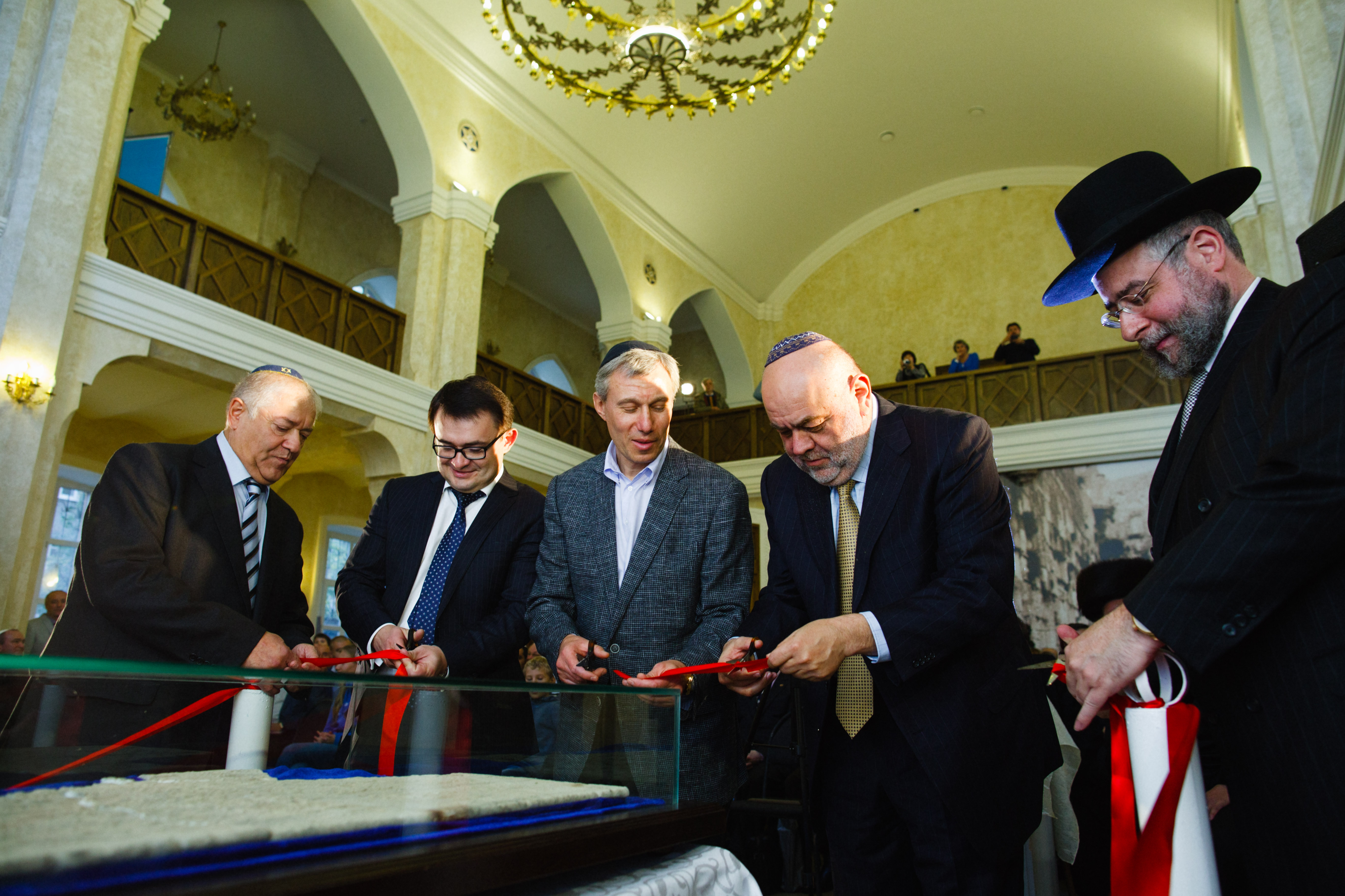 Открытие синагоги в Воронеже